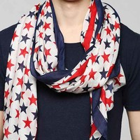 Stars & Stripes USA Scarf- Multi One