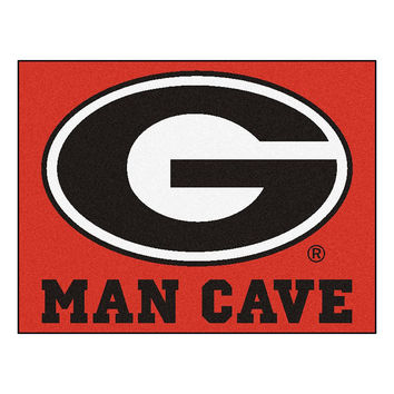 Georgia Bulldogs NCAA Man Cave All-Star Floor Mat (34in x 45in)