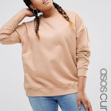 ASOS CURVE Ultimate Boyfriend Sweat