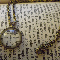 The Shire - Lord of the Rings Recycled Necklace