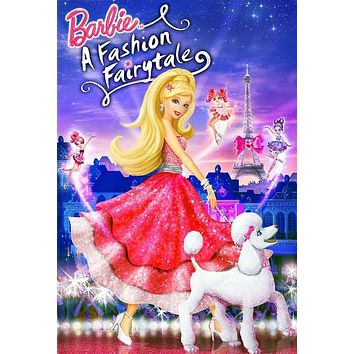 Barbie: A Fashion Fairytale 27x40 Movie Poster (2010)