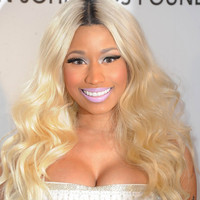 "Nicki Minaj 20""?Long Wavy Layered Synthetic Wigs for Women Blonde"