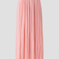 Rosy Sunset Maxi Skirt