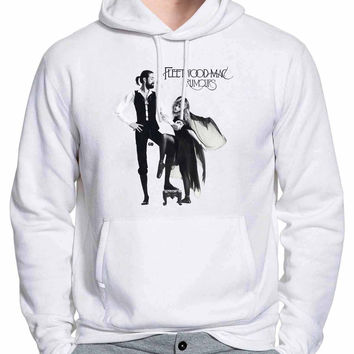 Fleetwood Mac Rumours Cover Album Hoodie -tr3 Hoodies for Man and Woman