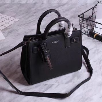 Ysl Saint Laurent Sac De Jour Leather Handbag Shoulder Bag