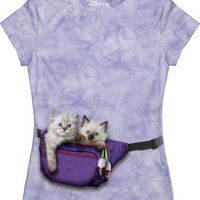 Fanny Pack Kittens Junior T-Shirt