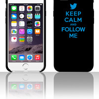 Keep Calm And Follow Me 5 5s 6 6plus phone cases