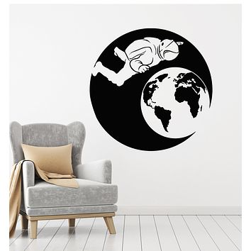 Vinyl Wall Decal Astronaut Spaceman Space Program Planet Stickers Mural (g530)