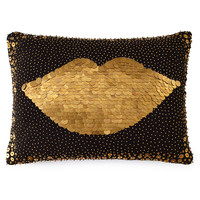 Black Lips Pillow - Jonathan Adler
