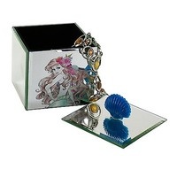 Ariel The Little Mermaid Glass Jewelry Box - Spencer's