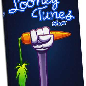 The  Looney Tunes Shows V2 Mirror Wrapped Canvas on 1 1/2-inch Stretcher Bars