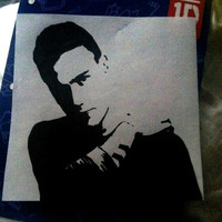 One Direction Drawing: Liam Payne Pop Art