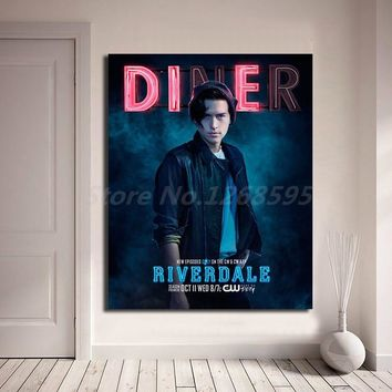 Riverdale Movie Poster Jughead Wall Art Canvas Poster And Print Canvas Painting Decorative Picture For Living Room Home Decor