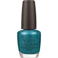 Opi Nail Lacquer, Teal The Cows Come Home, 0.5 Fluid Ounce