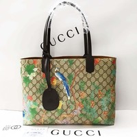 Gucci Women Tian GG Supreme tote Original Leather 59042199