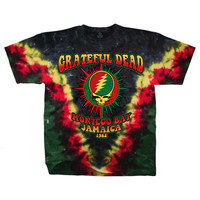 Grateful Dead - Montego Bay Tie Dye T Shirt on Sale for $24.99 at HippieShop.com