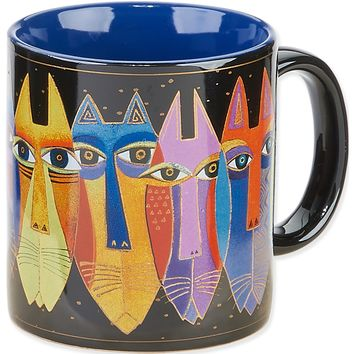 Tribal Cats Laurel Burch Artistic Mug Collection