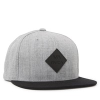 RVCA Prime Snapback Hat - Mens Backpack - Grey - One