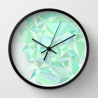 Circle 1 Wall Clock by Mareike Böhmer Graphics