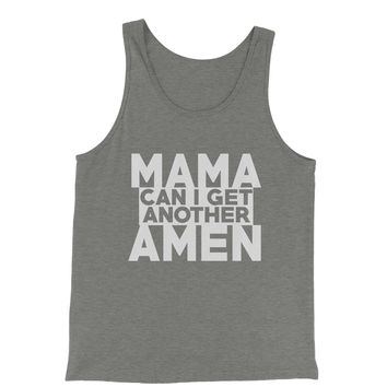 Mama Can I Get Another Amen Jersey Tank Top for Men