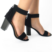 Casting Call Heels in Black