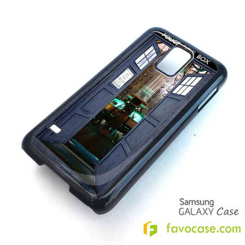 DR.WHO TARDIS OPEN THE DOOR Samsung Galaxy S2 S3 S4 S5, Mini, Note, Tab Case Cover