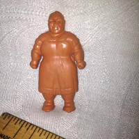 Marx Figurines Super Circus Fat Lady Freak Show Louis Marx co toys 1950s SUPER CIRCUS  circus trick  plastic