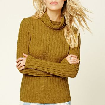 Cowl Neck Sweater Top
