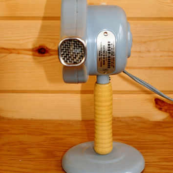 Antique Blue Handy Hannah Hair Dryer from 1950s