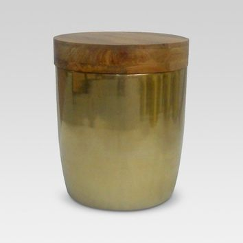 Storage Drum Accent Table Gold - Threshold™