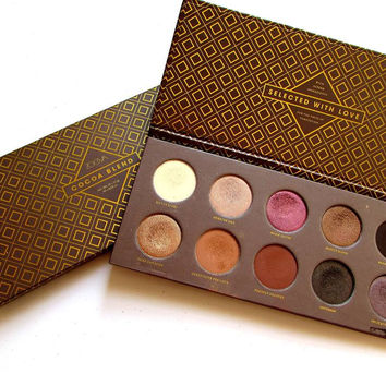 Brand makeup ZOEVA Eyeshadow Palette Mixed Metals / Cocoa Blend / Rose Golden eye shadow palette make up Collection