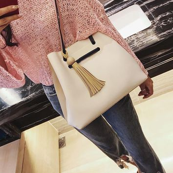 Fashion Casual Multicolor Soft Leather Tote Single Shoulder Bag Women Large Capacity Handbag