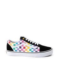 Vans Y Old Skool(Chkr)Rainbow