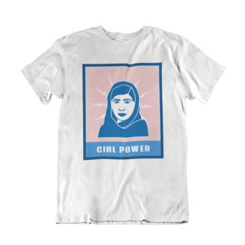 Girl Power (Malala) -- Women's T-Shirt