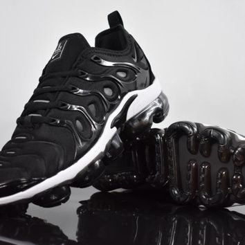 2018 nike air max plus tn vm black white vapormax vapor max woman fashion running sneakers sport shoes
