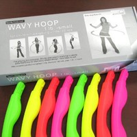 "Sports Hoop® for Exercise: Wavy Hoop® 1B - 1.0lb (Dia.36"") Small, Exercise Hula Hoop"