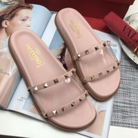 Valentino Women Fashion Casual Slipper Shoes