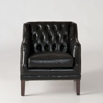 Equestrian Chair - Black