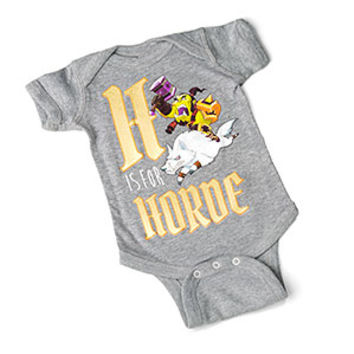 H is for Horde Bodysuit