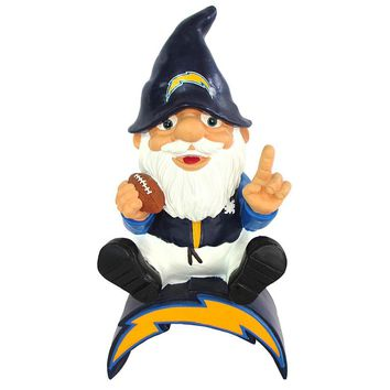 San Diego Chargers NFL Gnome On Team Logo