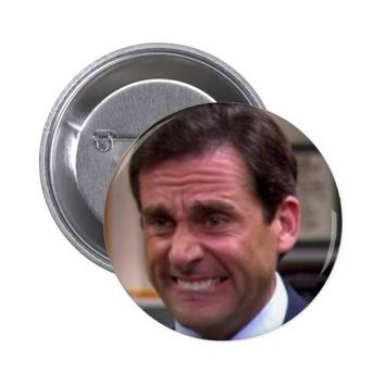 The Office - Michael Scott Button