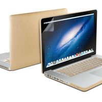 Hard Case Metallic Color (With Keyboard Protector and Screen Protector) for 13 Macbook Pro