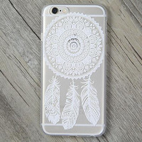 Lace Feather Cover Case for iPhone 5s 5se 6 6s Plus Gift + Gift Box