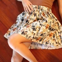 Crazy Cat Lady Skirt by vamosthreads on Etsy