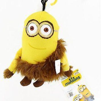 Minions Movie: Caveman Kevin Backpack Plush Backpack Clip Keychain