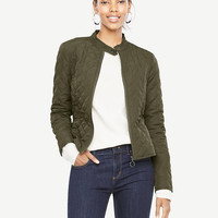 Quilted Moto Bomber | Ann Taylor