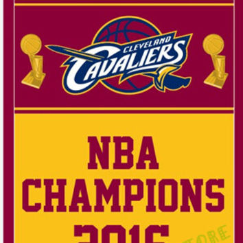 Variety 3X5FT 2016 Cleveland Cavaliers flag  NBA championship banner  design  flag 100D