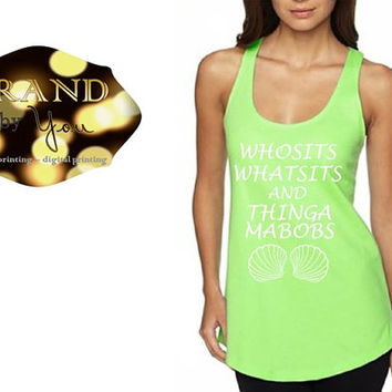 e65577a65b3a2 TANK TOP   Whosits Whatsits and Thingamabobs - Women s - Disney