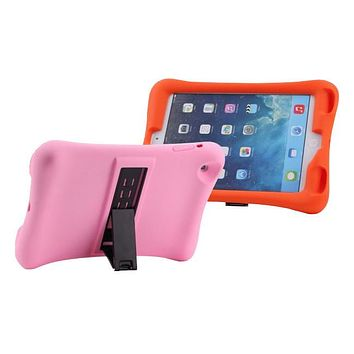Shock Impact Proof Silicone Cover Rubber Case WITH STAND for APPLE iPad Air 2