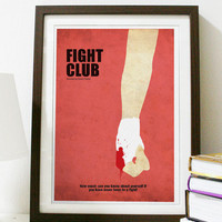 Fight Club Poster A3 Print
